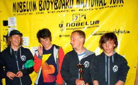 Podium Bodyboard National Tour 1
