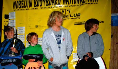 Podium Bodyboard National Tour 3