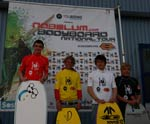 Podium Junior - Bodyboard national tour 2012 - Quiberon